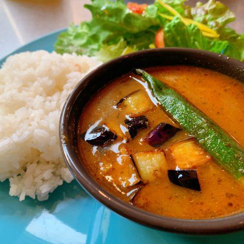 白身魚のスープカレー