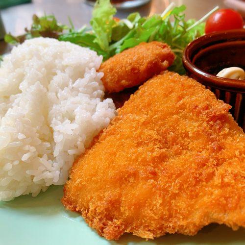 鮭フライプレート